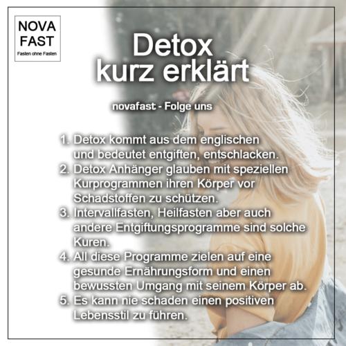 Detoxanleitung