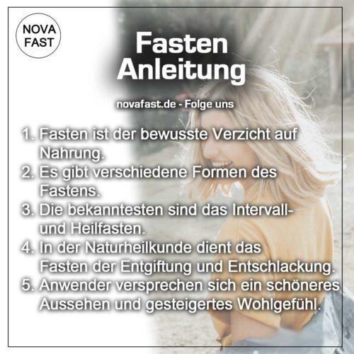Fasten-Anleitung