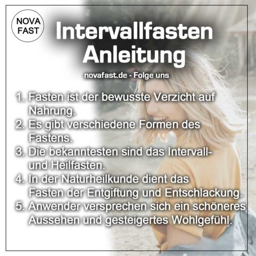 Intervallfasten-Anleitung