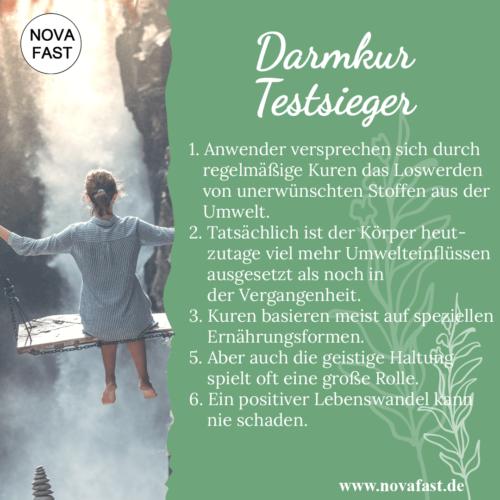 Darmkur-Testsieger