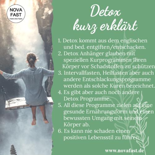 Detox-Lebensmittel