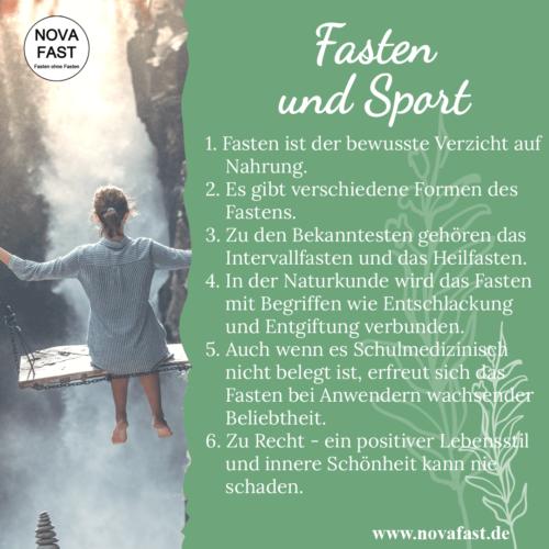 Fasten-und-Sport